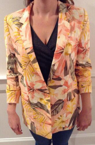 Jacket Kishina Størrelse Floral 6 Joie Nwt Print wg5HI6q