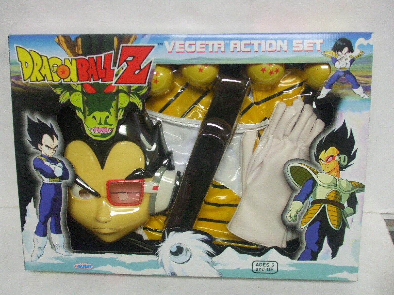 Rollspel för leksak Quest drake boll Z Vegeta Action Set MIB (H)