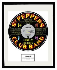 BEATLES - MEMORABILIA - Framed Art Poster - Limited Edition - An Ideal Gift