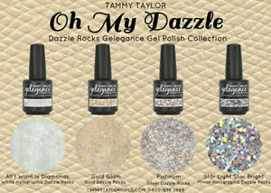 Tammy-Taylor-Nails-034-OH-MY-DAZZLE-034-COLLECTION-GEL-POLISH-COLORS