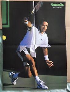 ALEX-CORREJA-Original-Vintage-French-Tennis-Magazine-Poster