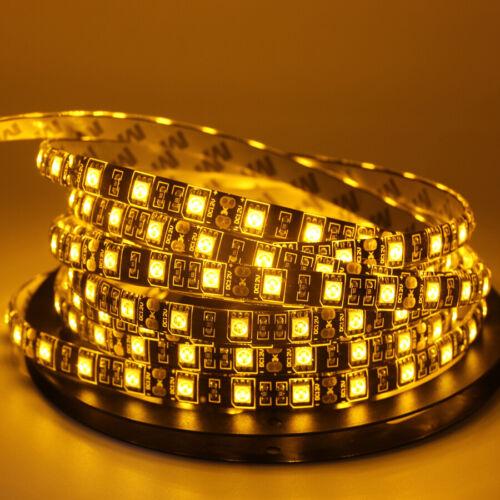 LED Strip light 5050 Black PCB 12V Flexible 60LEDs//m RGB RGBW RGBWW 1m 2m 3m 5m