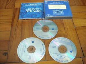 3-CDs-Johann-Strauss-The-Reader-039-s-Digest-Favorites-from-The-Classics