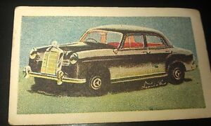 1957 MERCEDES BENZ 190  Australian Ampol Oil Swap Card