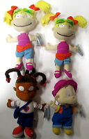 Lot Of 4 Mattel Star Bean Rugrats Dil Pickles, Susie Carmicheal, 2 Angelica's