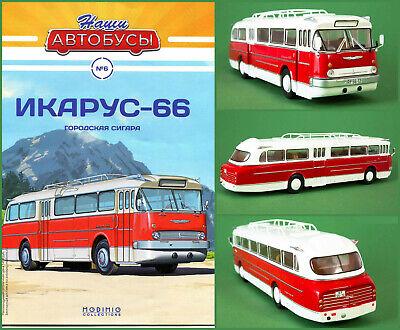 1:43 Ikarus 66 Linienbus Regionalbus Bus Russische Modimio #6 UdSSR Hungary DDR