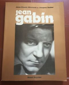Livre-Jean-GABIN-Jean-Claude-Missiaen-Jacques-Siclier-HENRI-VEYRIER-1977