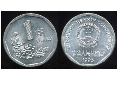 Efficient China Chine 1 Jiao 1995 ( Etat )