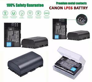 Battery For Canon Lp E6 Lpe6 Eos 60d 70d 6d 7d 5d2 5d3 5ds 60da 5d Mark Ii Iii Ebay