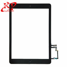 Black Touch Screen Digitizer Glass For 2017 iPad 5th Gen A1822 A1823 Home Button