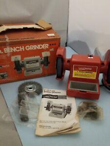 Vintage Montgomery Ward Powr Kraft 5in Bench Grinder Ebay