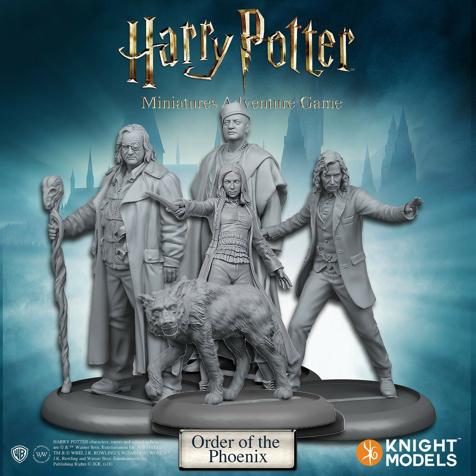 Knight Models Harry Potter Miniatures Game Order of the Phoenix new
