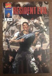 Resident-Evil-1-1996-first-printing-Original-Comic-Book-1st-Resident-Evil