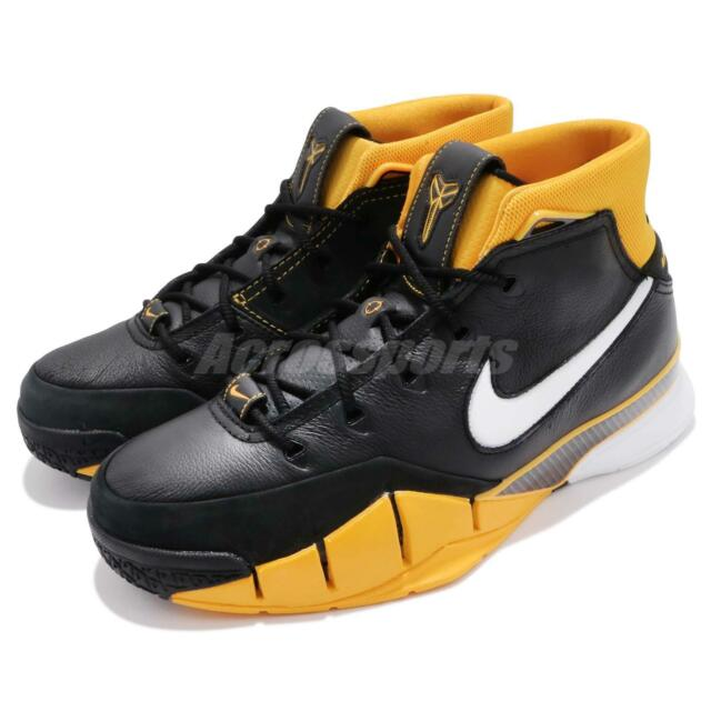 4813575a006c Nike Zoom Kobe 1 Protro Del Sol Bryant Varsity Maize Yellow Retro Men  AQ2728-003