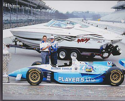 JACQUES VILLENEUVE 1995 INDY 500 8 X 10 PHOTO 1997 F1 CHAMP REYNARD FORD 6