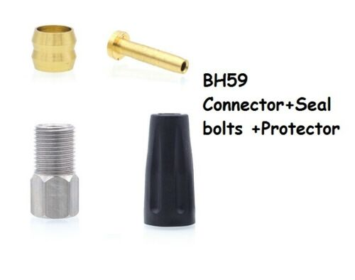 4pairs Bicycle Olive Connector Insert /&Seal bolts for MTB Hydraulic Brake hose