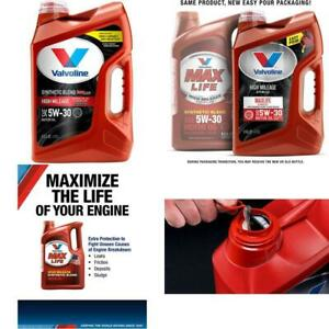 Valvoline-High-Mileage-with-MaxLife-Technology-SAE-5W-30-Synthetic-Blend-Motor