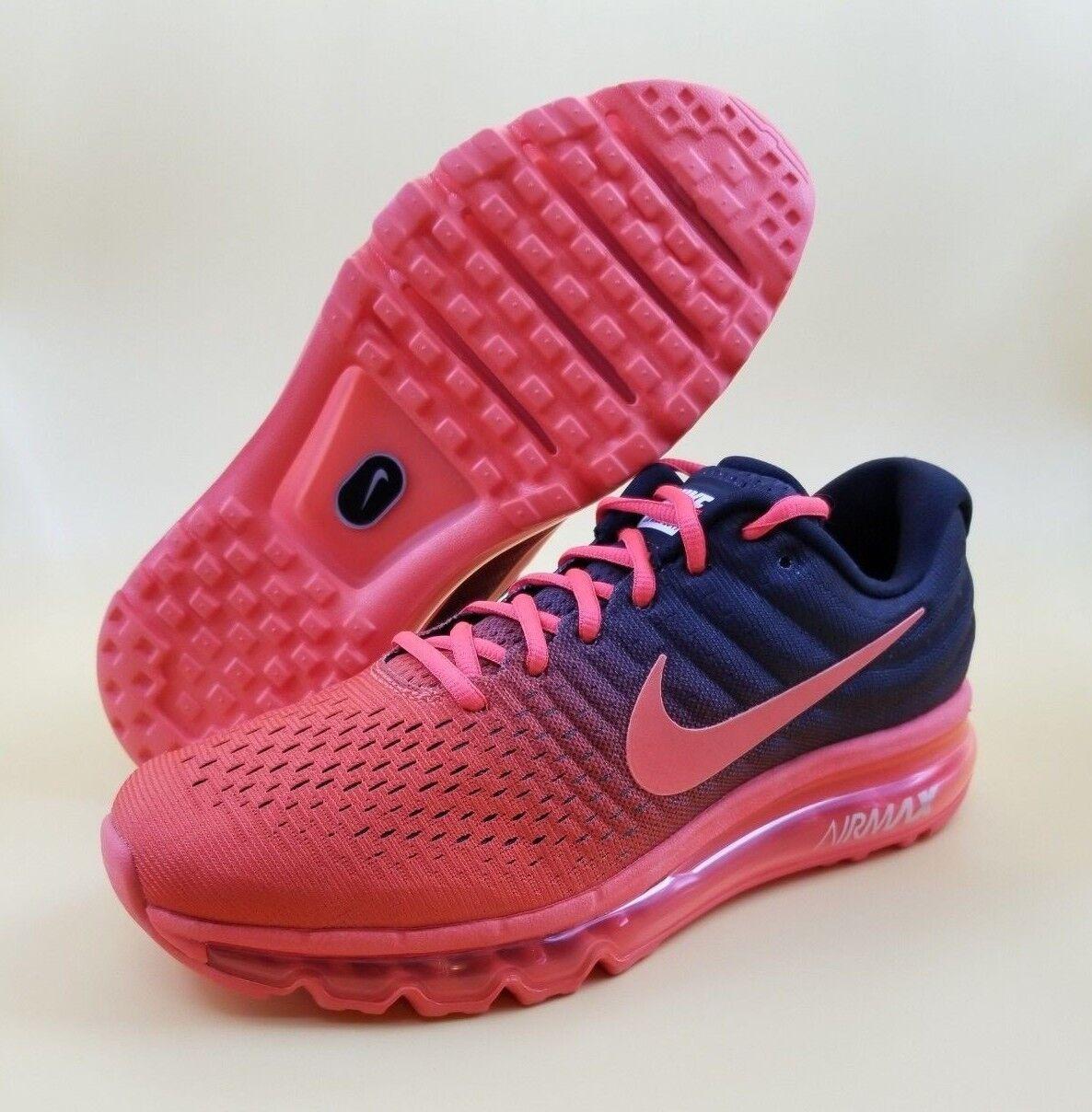 Nike Air Max 2017 SIZE 7 Men Running shoes Crimson Black MSRP  190