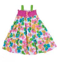 Peaches 'n Cream Colorful Flower Summer/spring Dress