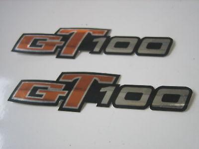 RH Pair Suzuki GT125 GT 125 Side Frame Cover Sticker Emblem Decal LH
