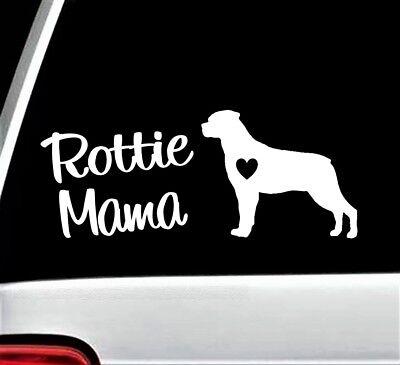 Rotty Dad vinyl decal//sticker dog animal pet breed cute love rottweiler saying