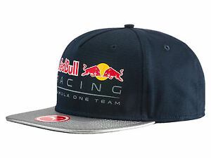 OFFICIAL 2017 PUMA RED BULL RACING F1 TEAM NEW BLOCK CAP BLUE ... 8c5a0b46e11