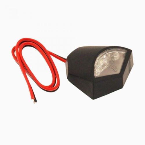 Éclairage de plaque 3 LED 12V homologué One moto scooter quad cyclo Neuf