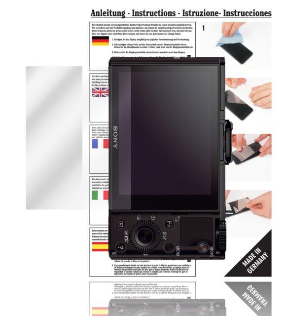2x BROTECT Displayschutzfolie Klar Nikon Coolpix B700 Schutzfolie Folie