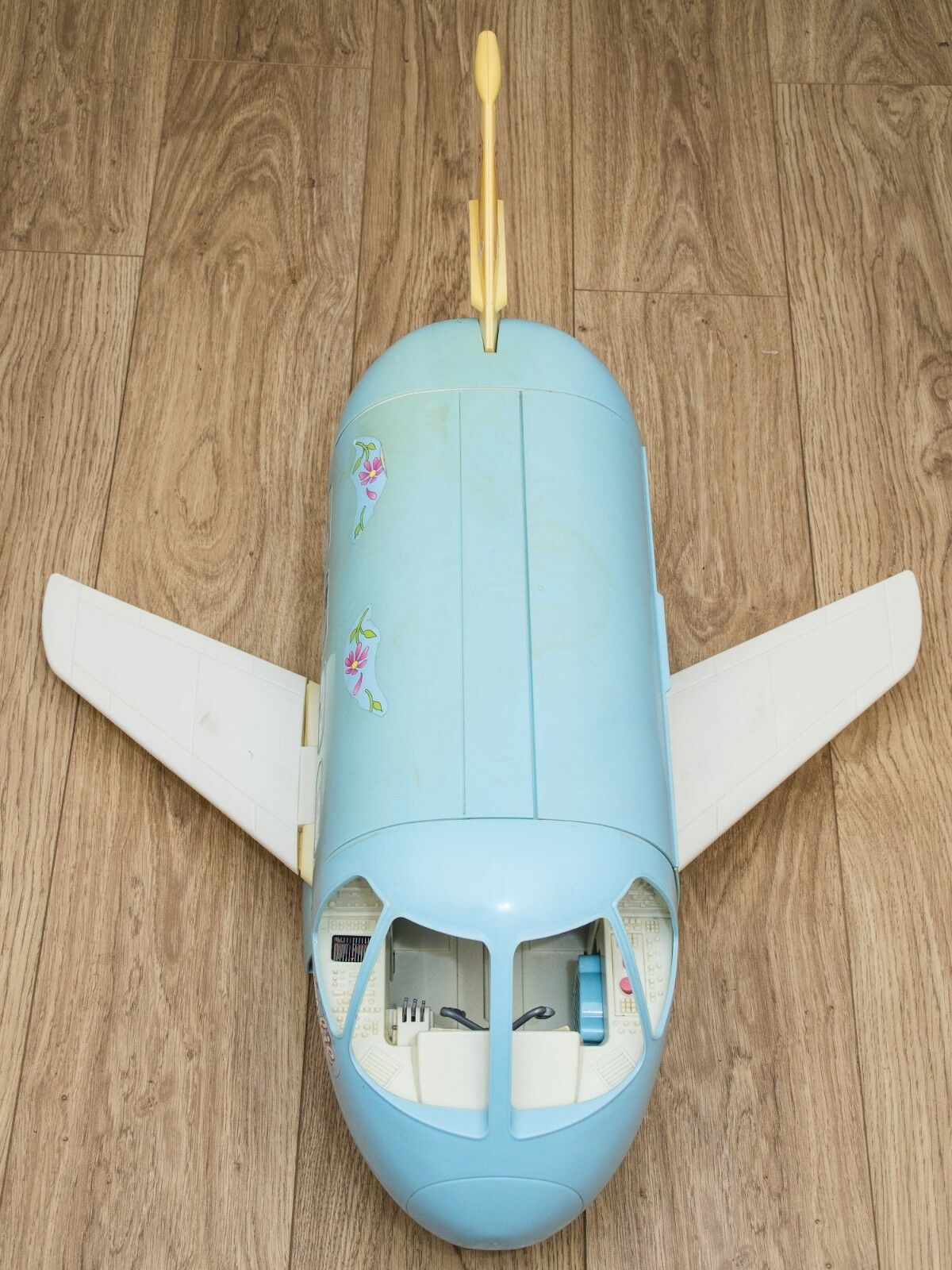 VINTAGE  Mattel Barbie blu Aeroplano Jumbo Jet Plane  popolare