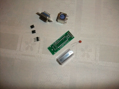 Amiga//Atari PS2 mouse Adapter solder yourself KIT