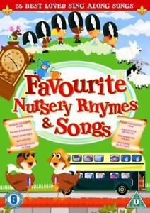 Favourite-Nursery-Rhymes-and-Children-039-s-Songs-DVD-Gift-Idea-Toddlers-kids-NEW