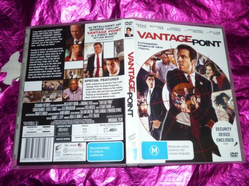 1 of 1 - VANTAGE POINT : (DVD, M) (121773)S