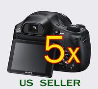 5x Clear Lcd Screen Protector Guard Film For Sony Cybershot Dsc-hx300 Hx300v