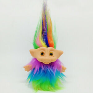 Zarte-Lucky-Troll-Puppe-Mini-Actionfiguren-Toy-Cake-Dekorationen-bunt