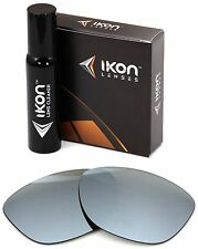 Polarized Ikon Replacement Lenses for Ray Ban Rb4181 Sunglasses - Silver