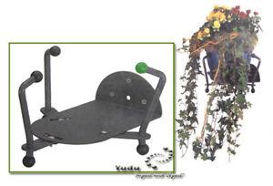 FidèLe Pot De Fleurs Support Support Mural Métal Réglable-der Wandhalter Metall Einstellbar Fr-fr Afficher Le Titre D'origine MatéRiaux De Choix