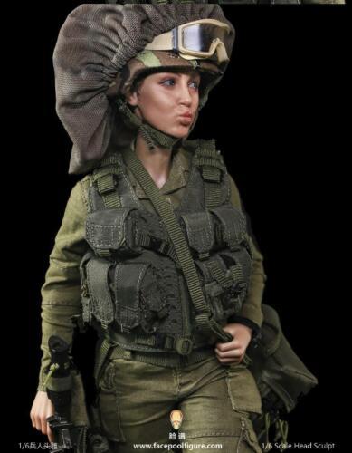 """Facepoolfigure 1//6 espressione di testa per donna 12/"""" Figura HOT TOYS Phicen ❶ USA ❶"""