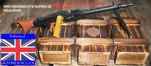 Arma de fuego coleccionistas en miniatura 1:6 la segunda guerra mundial alemán Waffen SS MG42 GPMG ametralladora