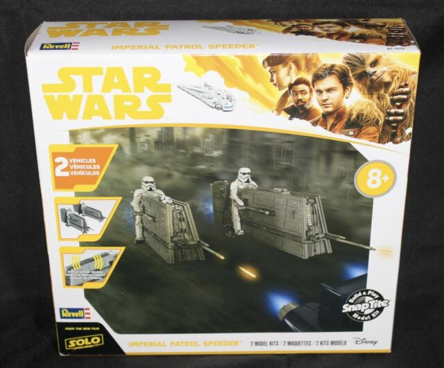 REVELL STAR WARS (SOLO A STAR WARS STORY) IMPERIAL PATROL SPEEDER 1:28 Scale