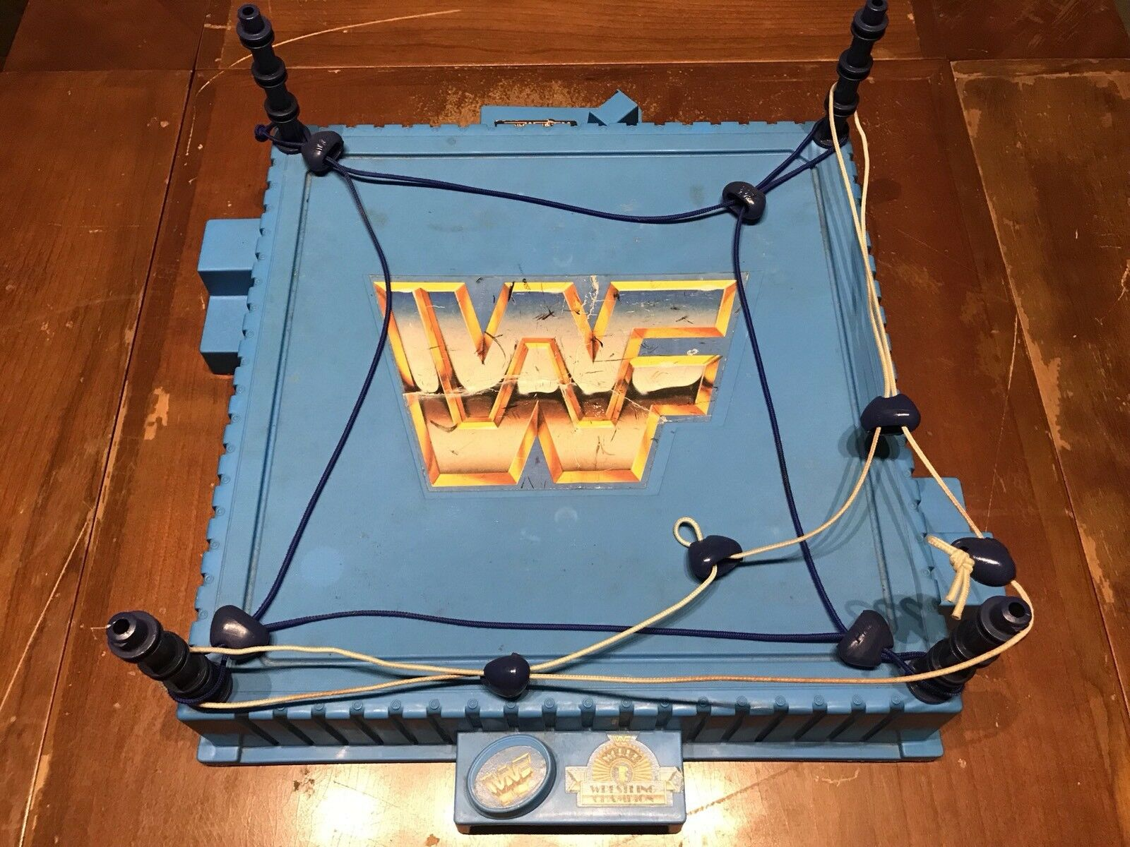 WWF Vintage Hasbro Wrestling Ring 1989 Titan Sports