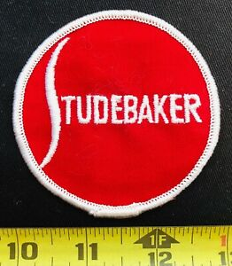 Studebaker Cars /& Trucks Red  Embroidered Badge //Cloth Patch  Iron or Sew