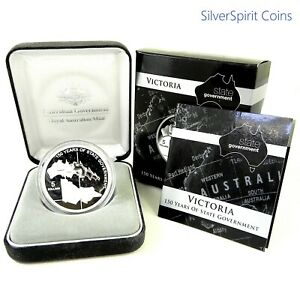 2006-STATE-GOVERNMENT-150-YEARS-VICTORIA-Silver-Proof-Coin