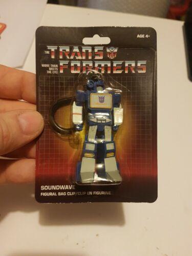 Authentique produit sous licence Transformers G1 KeyChain sac sac à dos Clip Soundwave
