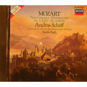 ANDRAS-SCHIFF-SANDOR-VEGH-piano-concertos-n-17-18-MOZART-CD-1985-Decca