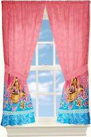 Home Kids Girl Disney Rapunzel Window Curtains Drapes Panel 82x63 Bedroom Decor
