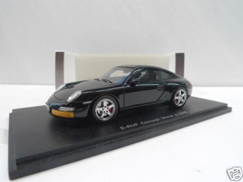 Funke s0739 - porsche e - ruf konzept modell 2008 schwarz - 1   43