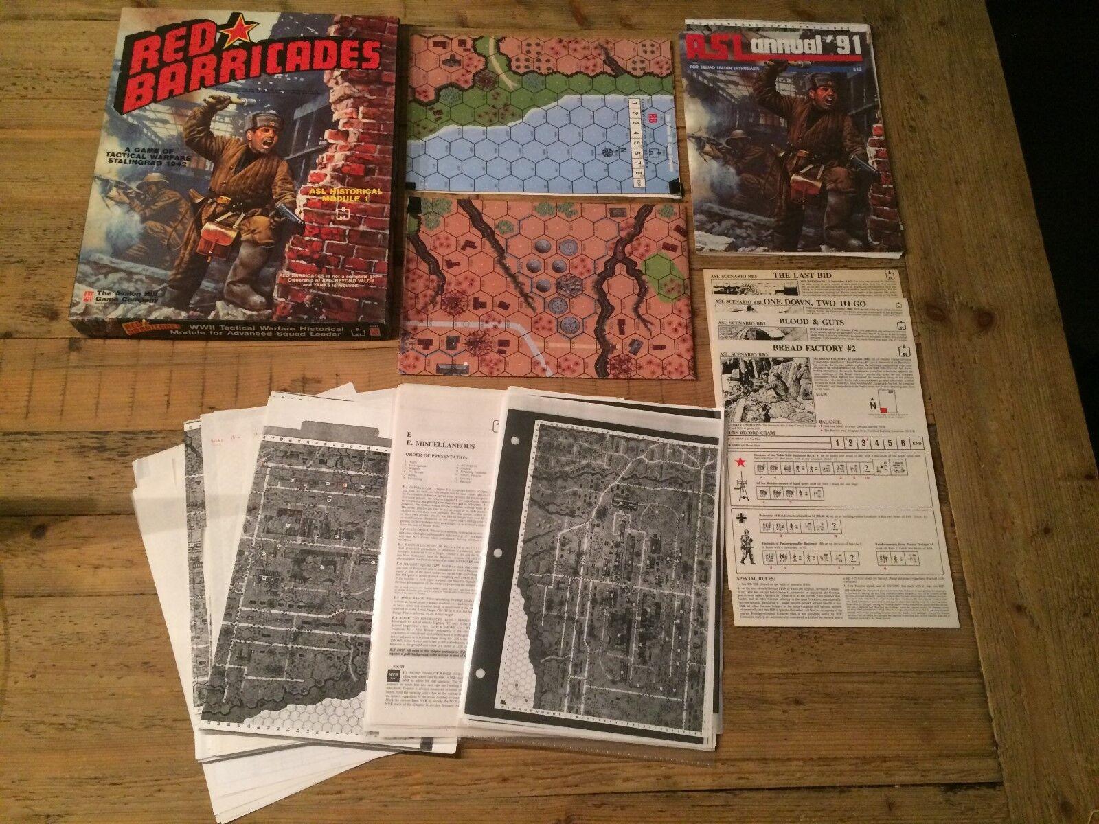 rouge Barricades (ASL) by Avalon Hill, strategy boardgame  rpg  les dernières marques en ligne