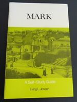 Mark Self Study Guide 1972 Paperback Book Jensen Free Shipping Bible