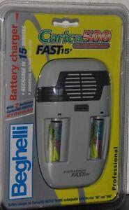 Beghelli 8856P Carica500 FAST15 Caricabatterie Carica Rapida