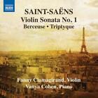 Violinsonate 1/Berceuse/Triptyque von Vanya Cohen,Fanny Clamagirand (2013)